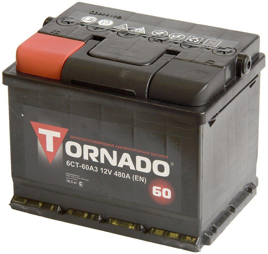 Аккумулятор TORNADO