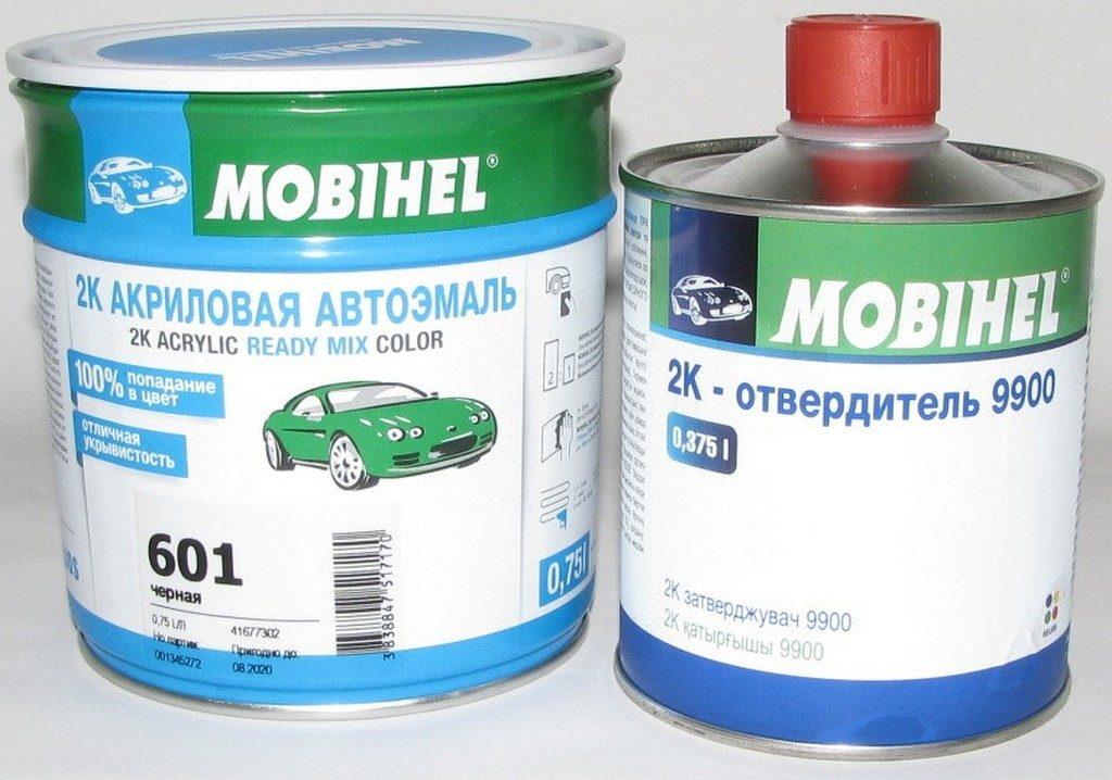 Авто краска акриловая Мобихел