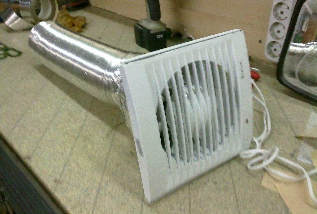 Механическая вентиляция гаража