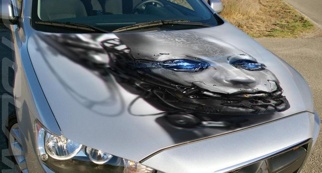 Оклейка авто плёнкой