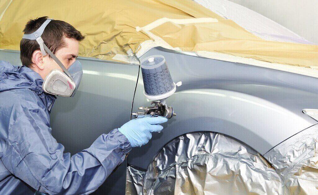 Испытываем компрессор для покраски авто