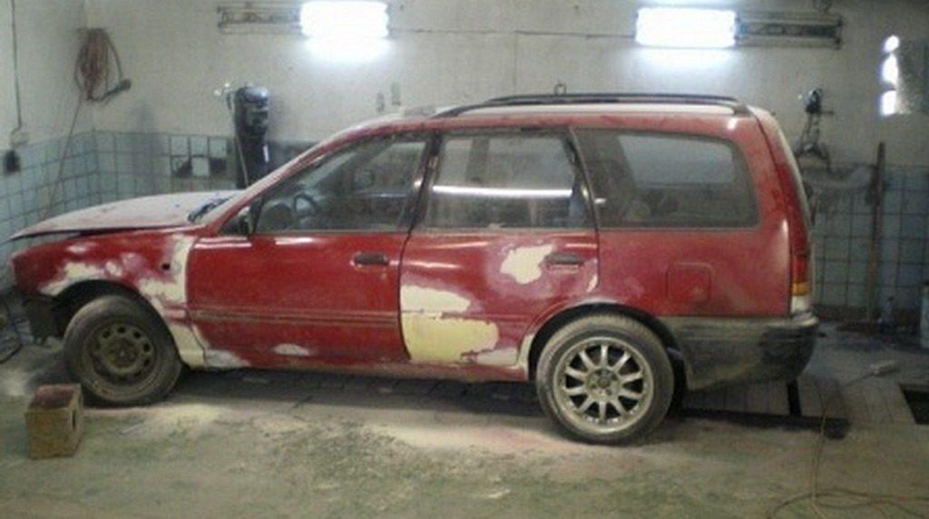 Подготовка автомобиля к покраске