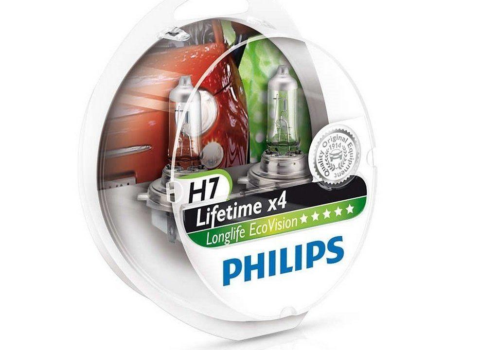 Лампа галогеновая Philips H7