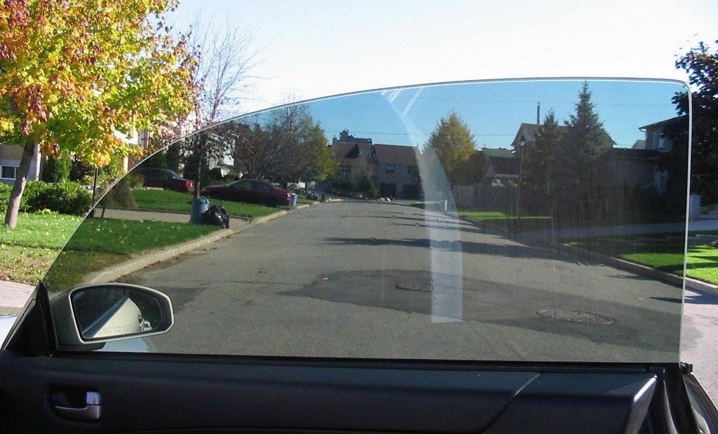 Тонировка передних стекол