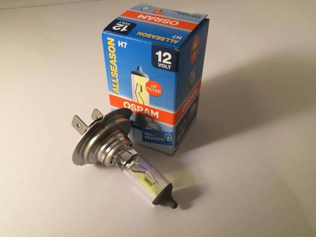 Обычно, на заводе изготовителе на ближний свет в авто «Форд Фокус 3» устанавливаются лампы бренда Osram из Германии