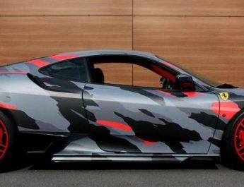 Как покрасить автомобиль в камуфляж?