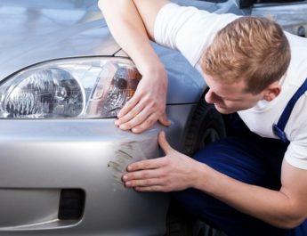 Удаление царапин на кузове автомобиля