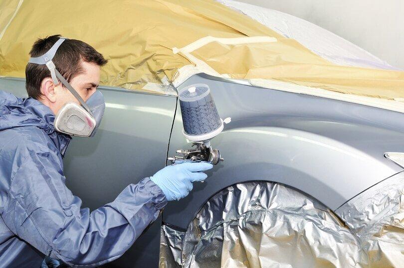 Как разводить краску металлик для покраски авто