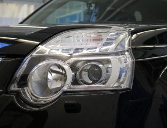 Как отполировать оптику своего автомобиля?