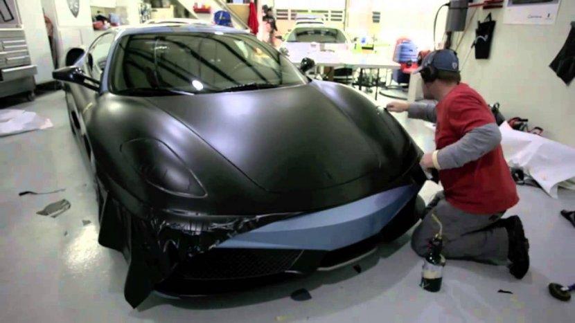 Матовая пленка на авто: фото, производители, виды и особенности